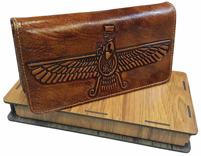 خرید کیف پول کتی چرم مردانه- دارای جعبه کادویی